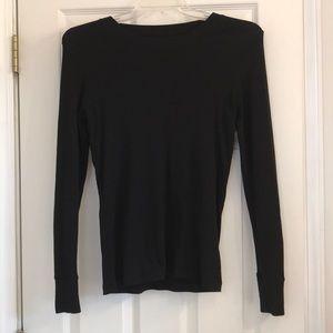 Gap black long sleeve shirt